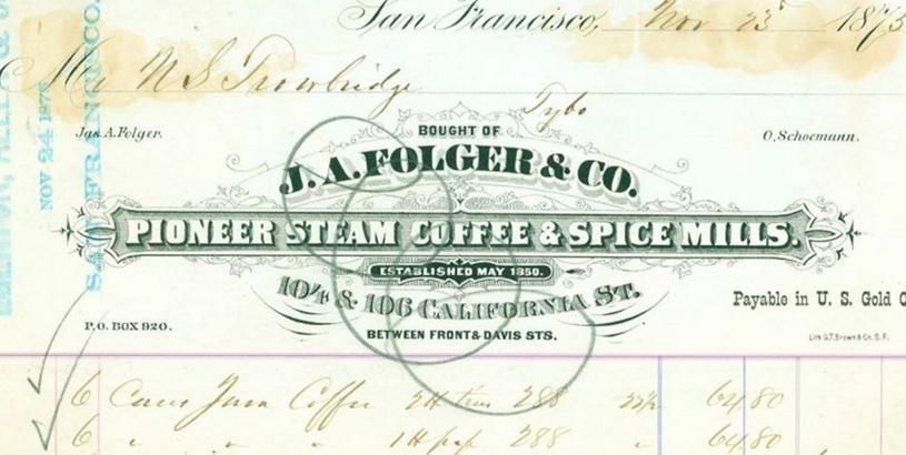 Folgers coffee history